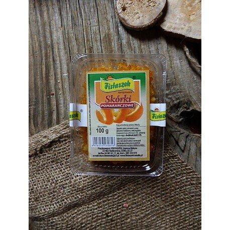 Skórki pomarańczowe 100 g