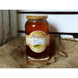 Miód lipowy - nektarowy 1250 g