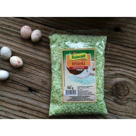 Wiórki kokosowe zielone 100 g