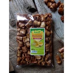 Banany suszone karmelizowane z sezamem  400 g